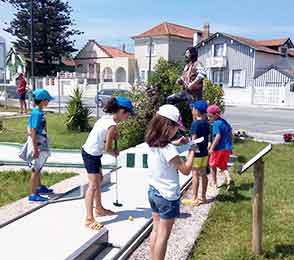 Costa Nova Mini Golf School Aveiro
