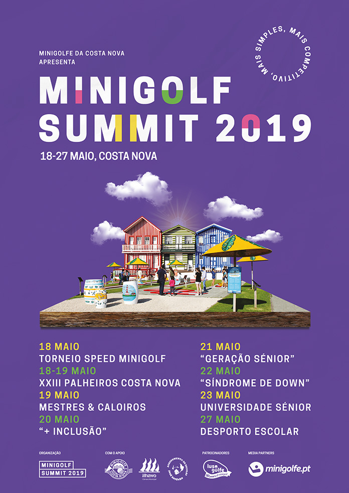 Cartaz Minigolf Summit 2019
