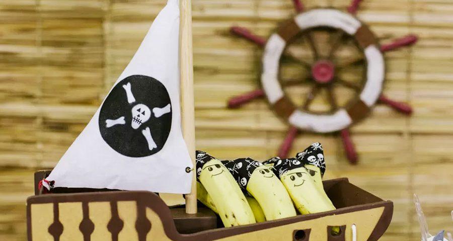Decoração Festa de Aniversário Pirata